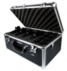 Pursuer - Premium Black Aluminum Vertical Multi-Pistol Case