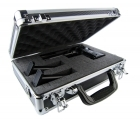 Defender - Premium Black Aluminum Single/Double Pistol Case