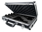 Guardian - Premium Black Aluminum Double/Triple Pistol Case