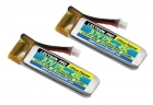 2-Packages of Lectron Pro 3.7V 175mAh 45C Lipo Battery 2-Pack for Blade 70S