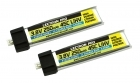 Lectron Pro 3.8V 250mAh 45C LiHV Battery 2-Pack for Tiny Whoop and other micro FPV racing drones