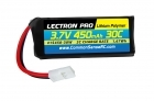 Lectron Pro 3.7V 450mAh 30C Lipo Battery with Walkera Connector for Dromida Kodo, Dromida Verso and Hubsan X4