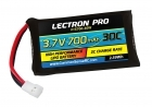 Lectron Pro 3.7V 700mAh 30C Lipo Battery with Walkera Connector for Estes Proto-X FPV Quadcopter