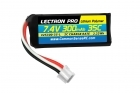 Lectron Pro 7.4V 300mAh 35C Lipo Battery with UMX Connector for the UMX Timber, Beast, Carbon Cub, Blade 130X & mCP X BL