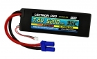 Lectron Pro™ 7.4V 5200mAh 35C Lipo Battery with EC5 Connector for 1/10th Scale Cars & Trucks