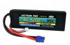 Lectron Pro 7.4V 5200mAh 35C Lipo Battery with EC3 Connector for 1/10th Scale Cars & Trucks - Losi, ECX