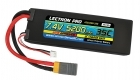 Lectron Pro 7.4V 5200mAh 35C Lipo Battery with XT60 Connector <b>+ CSRC adapter for XT60 batteries to popular RC vehicles</b>