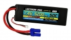 Lectron Pro™ 7.4V 5200mAh 50C Lipo Battery with EC5 Connector for 1/10th Scale Cars & Trucks - Losi, ECX