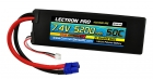 Lectron Pro 7.4V 5200mAh 50C Lipo Battery with EC3 Connector for 1/10th Scale Cars & Trucks - Losi, ECX