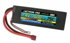 Lectron Pro 7.4V 7600mAh 75C Lipo Battery with Deans-Type Connector for 1/10th Scale Cars & Trucks