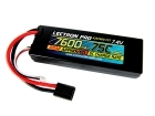 Lectron Pro 7.4V 7600mAh 75C Lipo Battery with Traxxas Connector for 1/10th Scale Cars & Trucks