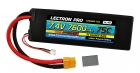 Lectron Pro 7.4V 7600mAh 75C Lipo Battery with XT60 Connector <b>+ CSRC adapter for XT60 batteries to popular RC vehicles</b>