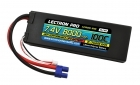 Lectron Pro 7.4V 8000mAh 100C Lipo Battery with EC3 Connector
