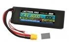 Lectron Pro 7.4V 8000mAh 100C Lipo Battery with XT60 Connector <b>+ CSRC adapter for XT60 batteries to popular RC vehicles</b>