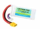 Lectron Pro 11.1V 1350mAh 60C Lipo Battery with XT60 Connector for FPV Racers