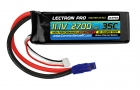 Lectron Pro 11.1V 2700mAh 35C Lipo Battery with EC3 Connector for E-Flite & Parkzone Planes