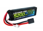 Lectron Pro 11.1V 5200mAh 50C Lipo Battery with Traxxas Connector for Brushless 1/10 Scale Vehicles & Mid-sized Planes, Helis & Quads