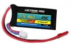Lectron Pro™ 11.1V 860mAh 25C Lipo Battery with JST Connector for 250 Size Helis, Small Planes & Foamies