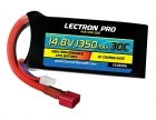 Lectron Pro™ 14.8V 1350mAh 30C Lipo Battery with Deans-Type Connector