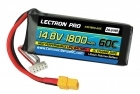 Lectron Pro 14.8V 1800mAh 60C Lipo Battery for FPV Racers