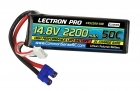 Lectron Pro 14.8V 2200mAh 50C Lipo Battery with EC3 Connector for EDF Jets, Quads etc.