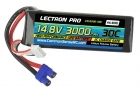 Lectron Pro 14.8V 3000mAh 30C Lipo Battery with EC3 Connector for EDF Jets, Quads etc.