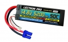 Lectron Pro™ 14.8V 5200mAh 50C Lipo Battery Hard Case with EC5 Connector