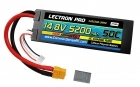 Lectron Pro 14.8V 5200mAh 50C Lipo Battery Hard Case with XT60 Connector <b>+ CSRC adapter for XT60 batteries to popular RC vehicles</b>