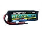 Lectron Pro 14.8V 5200mAh 50C Lipo Battery with Hard Case for 1/8th Scale Buggies & Trucks