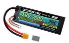 Lectron Pro 14.8V 7600mAh 75C Hard Case Lipo Battery with XT60 Connector <b>+ CSRC adapter for XT60 batteries to popular RC vehicles</b>