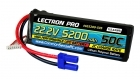 Lectron Pro 22.2V 5200mAh 50C Lipo Battery with EC5 Connector for Large Planes, Helis, Quads & 1/8 Trucks