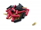 Bullet Connectors - 3.5mm - 50-Pack - Male