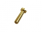 """Low Profile"" Bullet Connector - 4mm - Male"