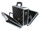 1013-RC Premium Black Aluminum Double Door Case