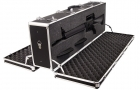 Double Trouble - Premium Black Aluminum Double Door Shotgun & Rifle Case