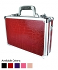 Croc - Premium Crocodile Textured Single/Double Pistol Case