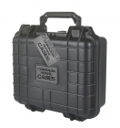 Premium Weather Resistant Single Pistol Case - Black - DIY Foam