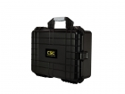 Premium Weather Resistant Dual Transmitter Case - Black - DIY Foam