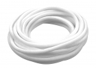 2-Packages of 3/16 Woven Split Tube Cable Wrap - White - 25 ft pack