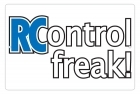 Aluminum Sign - RC Control Freak! - 8x12 in.