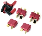 Deans-type Connectors - (2) Male, (2) Female