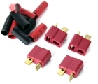 Deans-type Connectors - 4-Pack - Female