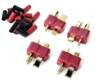 Deans-type Connectors - 4-Pack - Male