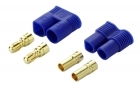 2-Packages of EC3 Connectors - (1) Male, (1) Female
