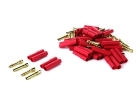 HXT 4mm Connectors - 50-Pack