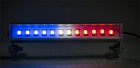 "LED Light Bar - 3.6"" - Police Lights (Red, White, and Blue lights)"