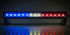 "LED Light Bar - 5.6"" - Police Lights (Red, White, and Blue Lights)"