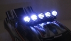 2-Packages of 1/10 Crawler LED Light Bar Set - Black