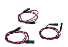 Red LED Night Flying Set for Lipo Fuel Gauge