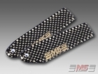 MS Composit Carbon Fiber Composite Tail Blades 80mm (5/3)